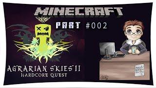 """Minecraft - Agrarian Skies 2 ★ Part #002  - """"Ein bisschen Erde"""" [Curse-Voice]"""