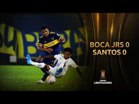 Boca Juniors Santos Goals And Highlights