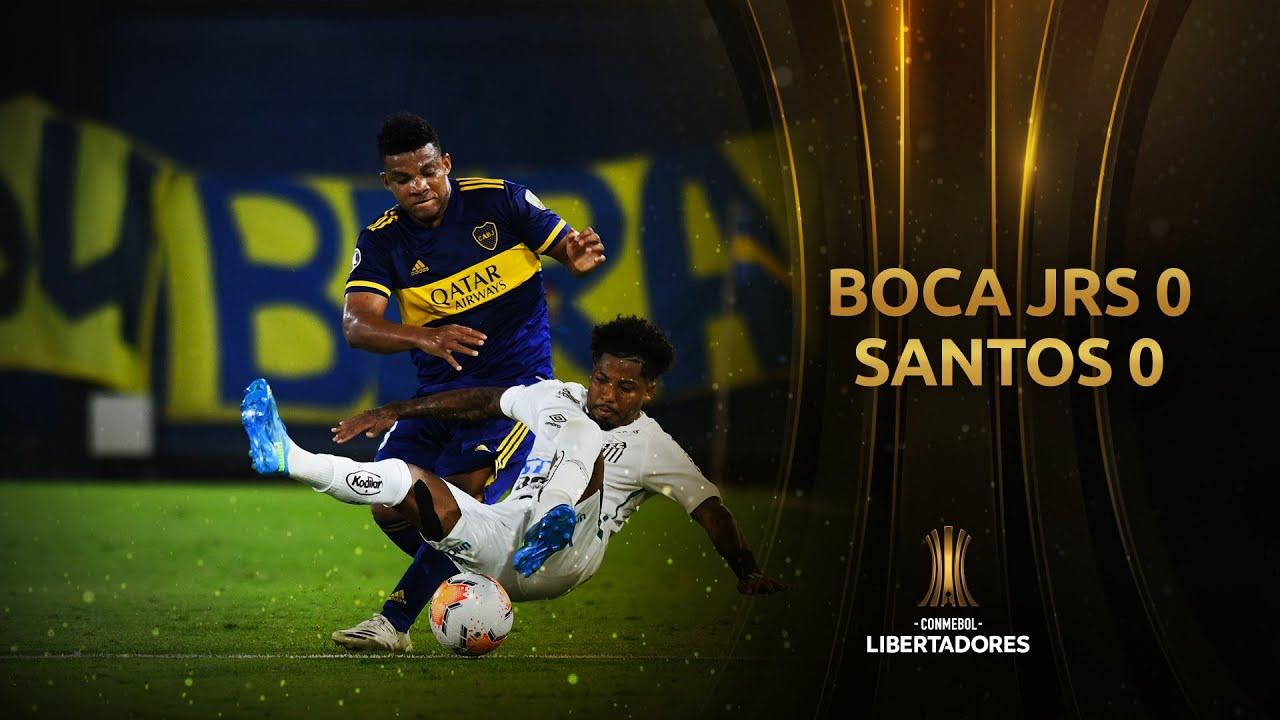Бока Хуниорс  0-0  Сантос видео