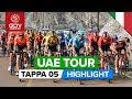 UAE Tour 2020 Sintesi della quinta tappa | Al Ain › Jebel Hafeet