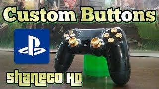 How to make a custom ps4 controller using markers dualshock