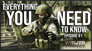 EVERYTHING a Noob Needs to Know - Escape From Tarkov Full Playthrough Series Guide (Episode #1)