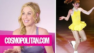 Tara Lipinski Critiques Her Best Throwback Looks | Cosmopolitan