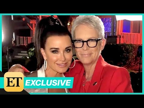Halloween Stars Kyle Richards and Jamie Lee Curtis Reunite! Watch Their Sweet Chat (Exclusive)