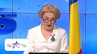 Irena Boclincă, sosia Vioricăi Dăncilă, îi ia la rost pe Naty, Mircea și Zizika