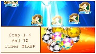 6 Step Anniv + 10 MIXER - Captain Tsubasa Dream Team