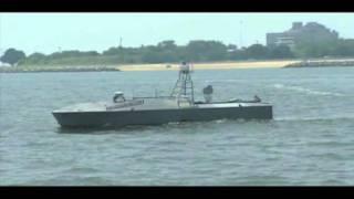 Unmanned patrol boat