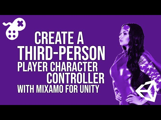 Create a Third-Person Player Character Controller with Mixamo for Unity [PROMO]