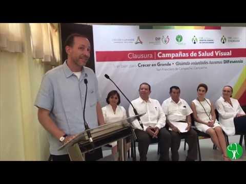 """Clausura del programa 2018 """"Para verte mejor"""" cirugía de cataratas"""