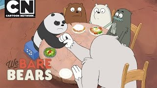 We Bare Bears | Arm Wrestling | Cartoon Network