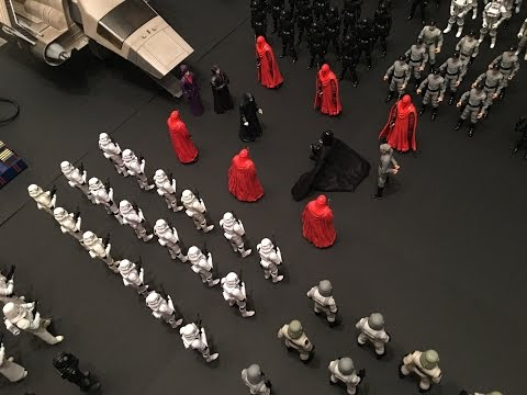 Star Wars Diorama: Emperor's Arrival on Death Star II