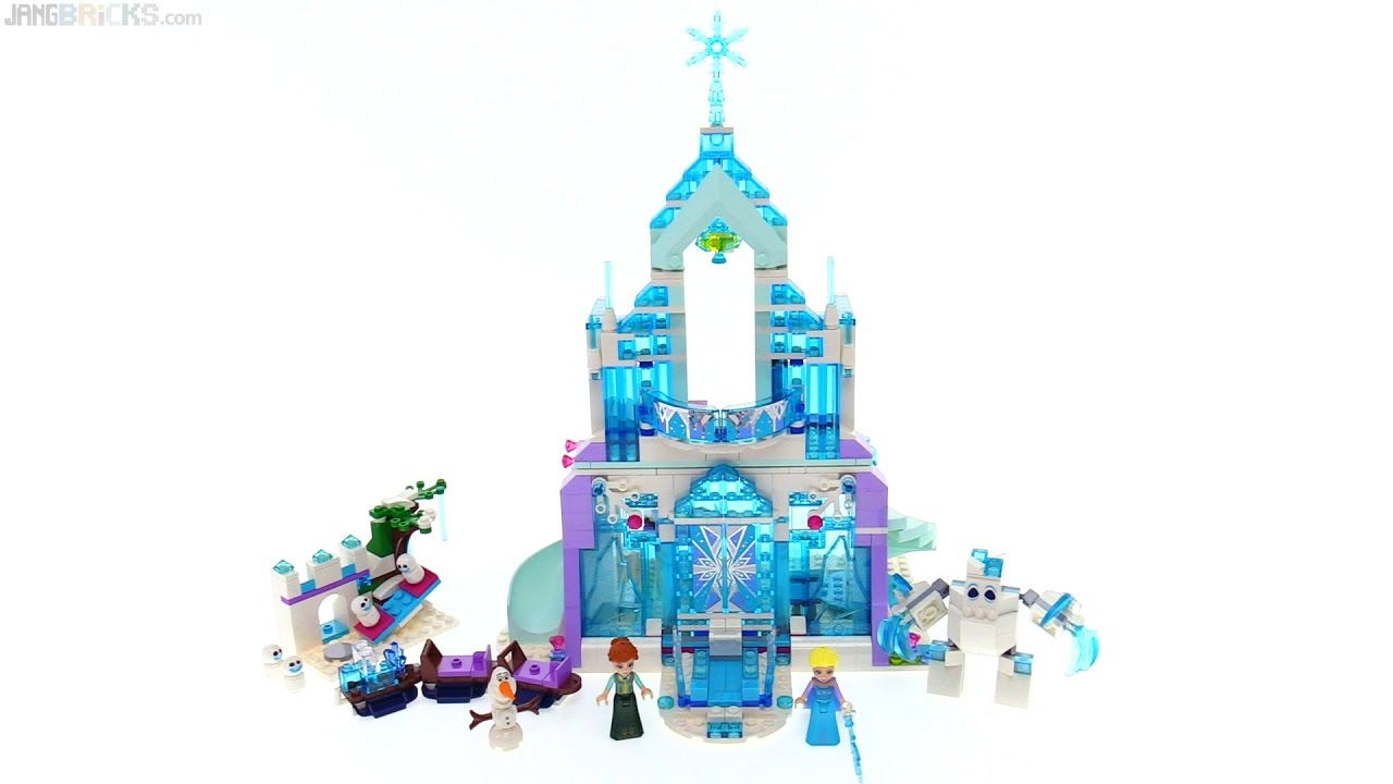 Lego Disney Elsa S Magical Ice Palace Review 👸⭐ 41148