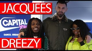 Jacquees & Dreezy on relationship, Nipsey Hussle, Que mixes, Chanel Slides, Your Peace - Westwood