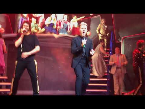 The Band Musical - Manchester - Opening Night - Take That encore with Lulu