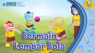 Dongeng Anak Mombi Ae Bermain Lempar Bola Ae Kartun Anak