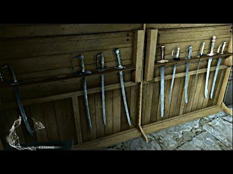 Assassin's Creed 3 - Colección de todas las ARMAS del juego - Las mejores armas