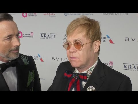 Sting, Joel, more celebrate Elton John AIDS Foundation