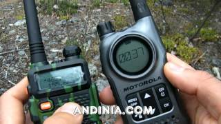 Cómo comunicar Handy con Walkie-talkie - How-to comunicate radio HF - Walkie-talkie - Pt. 1 de 2
