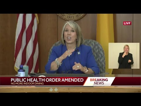 Gov. Lujan Grisham Scales Back On Reopening The State