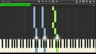 Celine Dion - My Heart Will Go On (Titanic) [Easy Synthesia Tutorial]