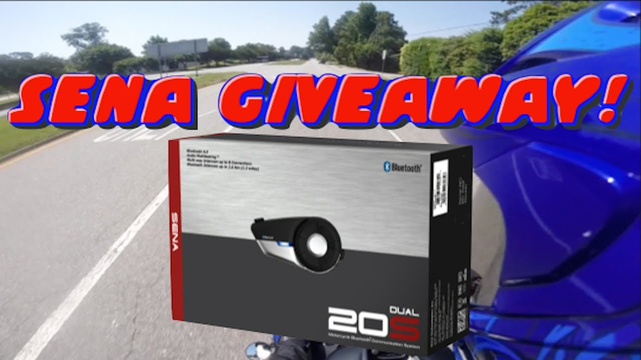 sena bluetooth 20s dual pack giveaway youtube. Black Bedroom Furniture Sets. Home Design Ideas