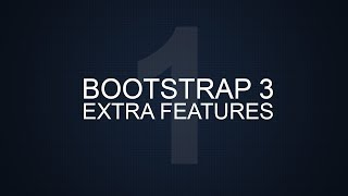 Bootstrap 3 Extra Tutorials - #1 - Breadcrumbs