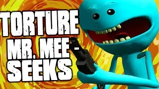 Rick and Morty - TORTURING MR. MEESEEKS, SO MUCH FUN! - Rick and Morty Virtual Rick-ality (Gameplay)