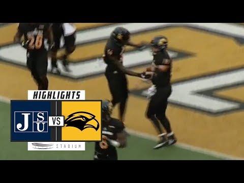 Jackson State vs Southern Miss Football Highlights (2018) | Stadium