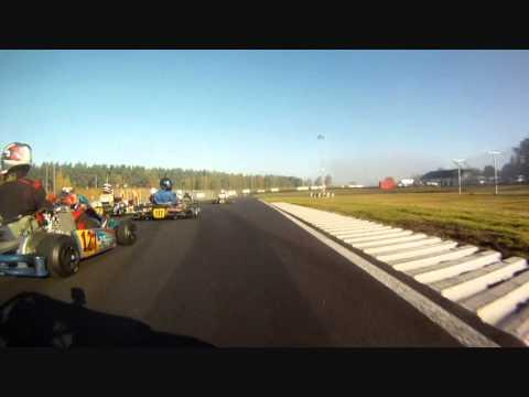 Kristianstad Rotax Max 2011 österberg Gokart Crash Youtube