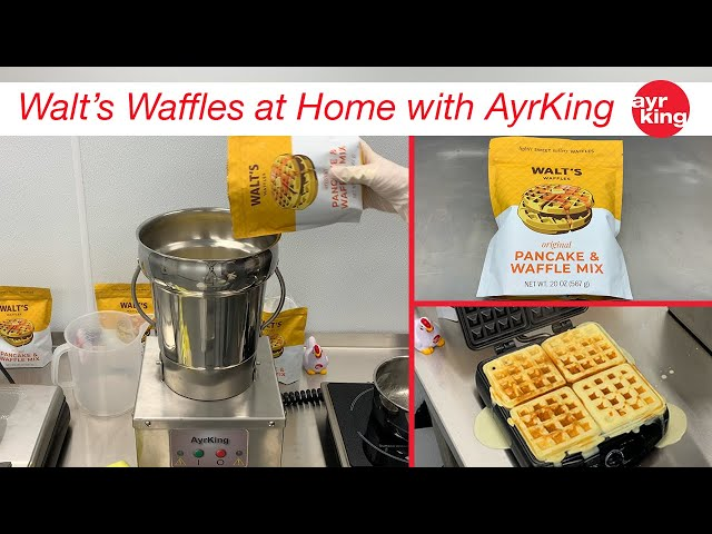 PRODUCT SHOUT OUT: WALT'S WAFFLES