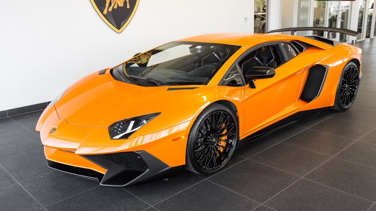 2015 arancio atlas lamborghini aventador lp750 4 superveloce youtube. Black Bedroom Furniture Sets. Home Design Ideas