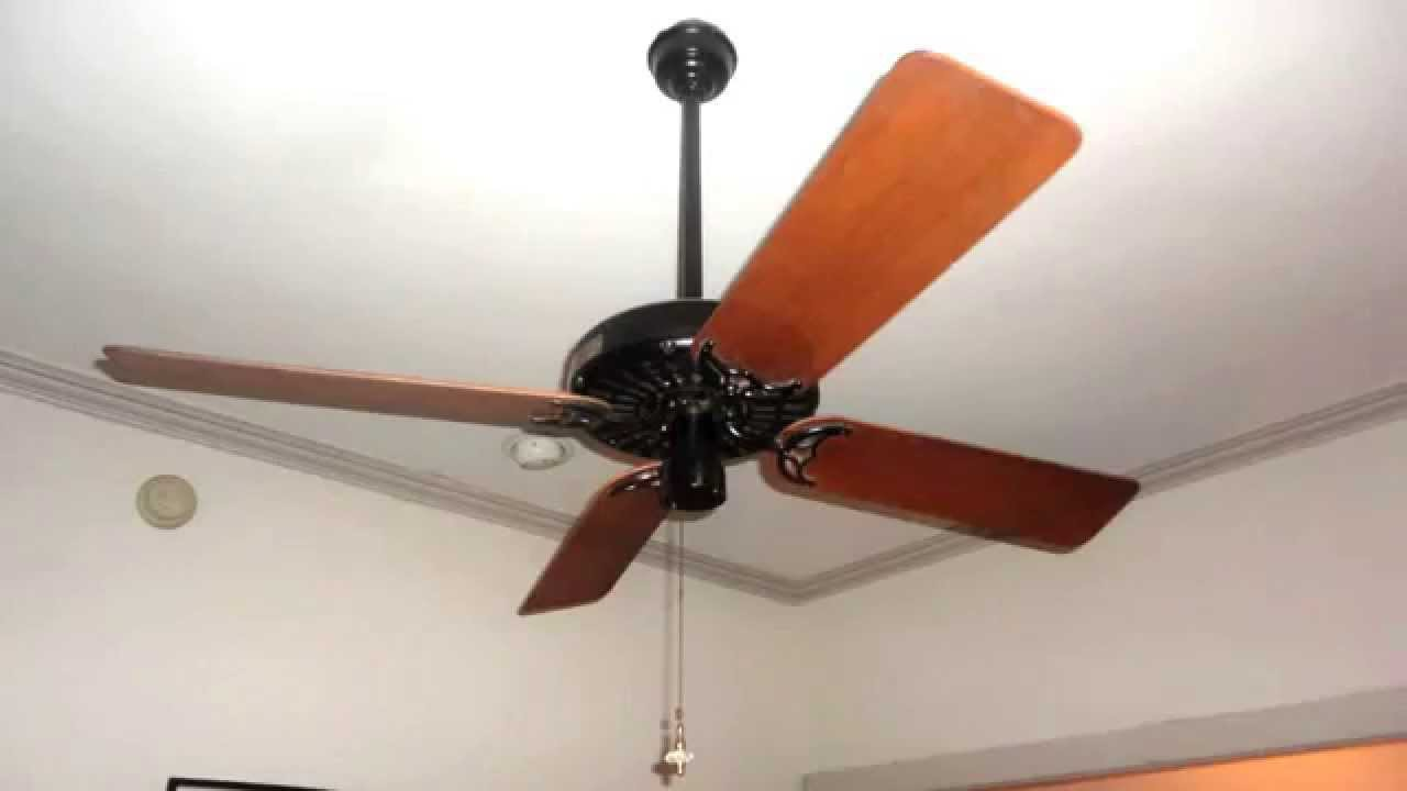 "52"" Hunter Original ceiling fan - YouTube"