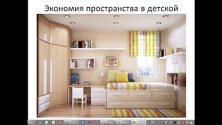 Экономия пространства в детской.  Двухъярусные кровати.(, 2016-03-03T11:33:13.000Z)