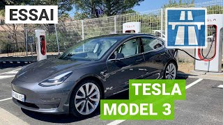 Nice-Barcelone en Tesla Model 3