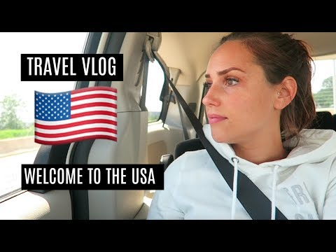 TRAVEL VLOG NO.1 | WELCOME TO THE UNITED STATES | KathisFinest