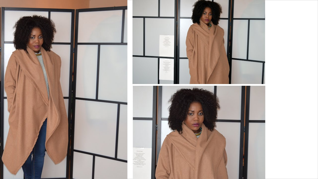 Diy Camel Coat Sew Along With Pattern Youtube