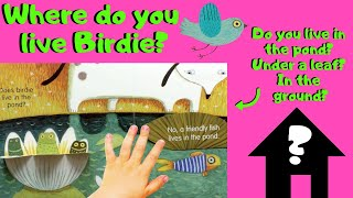 Where Birdie Lives - A Lift-the-Flap Book about Friendship