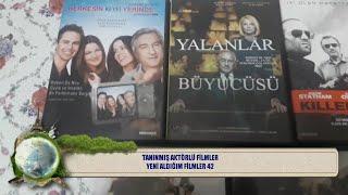 ARŞİV DVD KOLEKSİYON TANINMIŞ AKTÖRLÜ FİLMLER YENİ ALDIĞIM FİLMLER SERİ 42 (DVD)