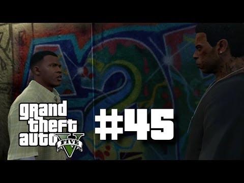 "Grand Theft Auto 5 Gameplay Walkthrough Part 45 ""LEGAL TROUBLE + LAMAR DOWN"" (GTA V)"