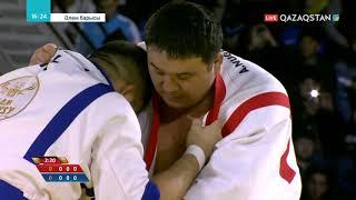 Айбек Нұғымаров моңғолиялық Серік Бердімұратты ұтып, жартылай финалға жолдама алды