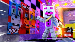 Redecorating Freddy's Pizza World! Minecraft FNAF Roleplay
