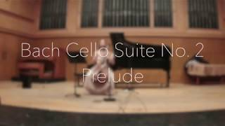 Prelude to Bach Suite No. 2