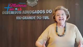 Cléa Carpi da Rocha | Movimento Mais Mulheres na OAB