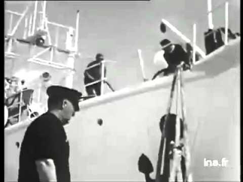 Jacques Cousteau à Propos Du Monde Du Silence - 1956