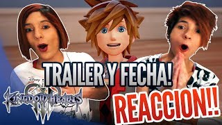KINGDOM HEARTS 3 D23 TRAILER - REACCION y FECHA DE LANZAMIENTO | Release date - Español - Reaction