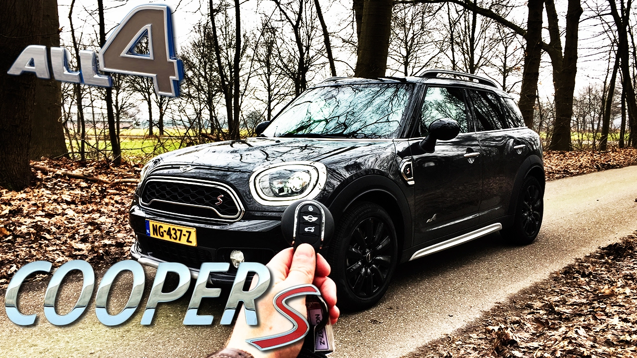 Mini Countryman Cooper S 2017 Review Pov Test Drive By Autotopnl