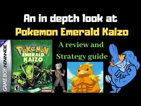 Hardest Pokemon Game Ever? In Depth Analysis And Strategy Guide For Pokemon Emerald Kaizo, ROM Hack