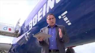 Farnborough Air Show 2014: Boeing 787-9 Walkaround
