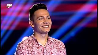 The Voice Romania - Florin Raduta - When A Man Loves A Woman -Blind Auditions 2014
