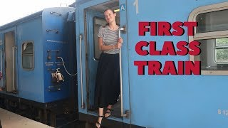 ANURADHAPURA TO JAFFNA FIRST CLASS TRAIN I SRI LANKA